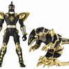 "5"" Quadro Battlized Power Rangers - Black Ranger (Ranger with Armor)"